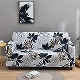 WXQY Funda de sofá elástica para Sala de Estar Funda de sofá seccional Antideslizante Funda de sofá seccional en Forma de L Funda de sillón de Esquina A13 3 plazas