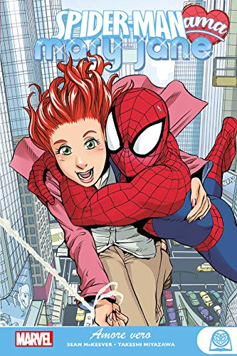 Amore vero. Spider-man ama Mary Jane. Marvel young adult