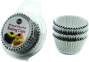 Norpro Silver Foil Mini Baking Cups/Liners, 60-Pack
