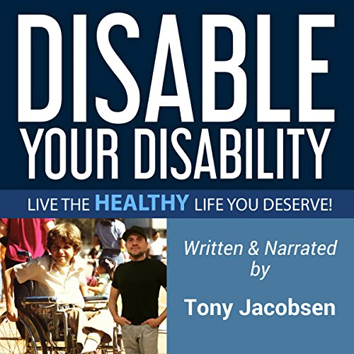 Disable Your Disability audiobook cover art