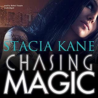 Chasing Magic audiobook cover art