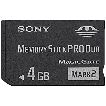 SONY メモリースティック PRO Duo 4GB Mark2 MS-MT4G ソニー 海外パッケージ品