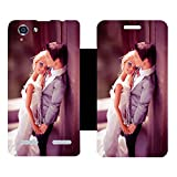 Rich Fashion Designer Flip Cover with Vinyl wrap-around for Lenovo Vibe K5 Plus