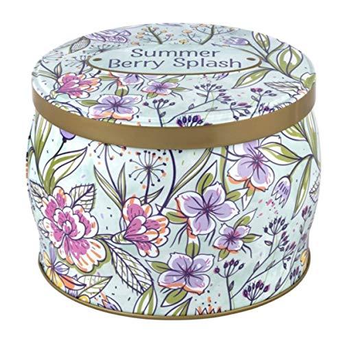 Simply Indulgent Fragranced Soy Candle-Raspberry. Mandarin & Jasmine (1, 21oz), Nylon/a