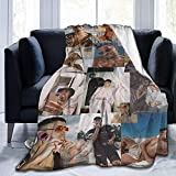 Bad Bunny Blankets Throws Plush Fuzzy Suitable for Teens Women in The Sofa Bed Office Couch 40'×50'