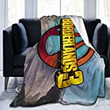 YoungMall Borderlands-3 Twin Size Flannel Fleece Velvet Plush Bed Blanket As Bedspread,Coverlet,Bed Cover,Blankets - Soft, Lightweight, Warm and Cozy.60'X50'