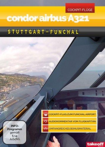 Condor Airbus A321 Stuttgart-Funchal - Cockpit-Flug/DVD