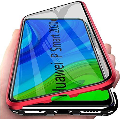CCENJOY Para Huawei P Smart 2020 Caja magnética, Delgada Caja...