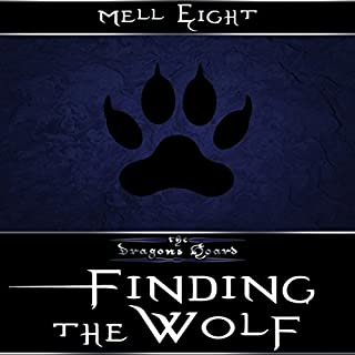 Finding the Wolf audiobook cover art