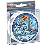 WFT Schlagschnur Vorfach - Taper Leader Clear 5x15m - 0,28-0,57mm