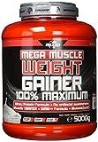 BWG Mega Muscle Weight Gainer 100% Maximum - perfekt für HardGainer und Massephasen – Kraftaufbau - Mega...