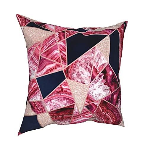 Fundas de almohada decorativas para sofá, dormitorio, coche, accesorios para el hogar, 50 x 50 cm