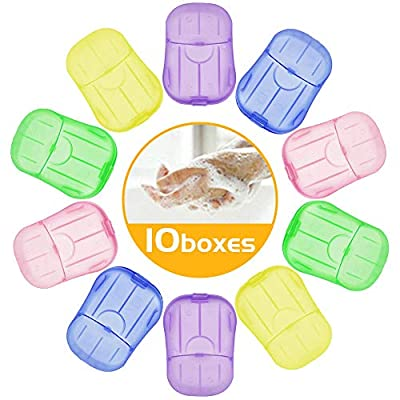 10 Boxen Seifen Blättchen