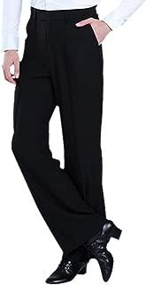 Men's Pants Latin Dance Tango Modern Trousers Ballroom Dancewear Costume