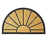alfombra entrada casa exterior semicircular