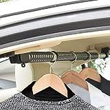 WXCC Car Kleiderständer, Autokleiderbügel Bar, Retractable Fahrzeugkleiderständer Kleiderstange Für Reisen Oder Garment Tücher Die Meisten Autos