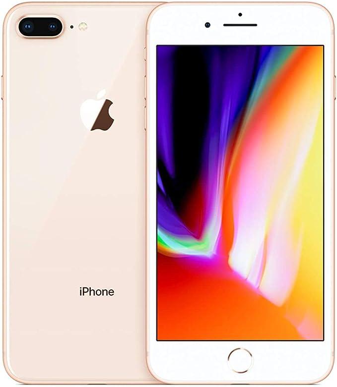 Amazon Com Apple Iphone 8 Plus 64gb Gold Fully Unlocked Renewed