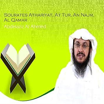 Sourates Athariyat, At Tur, An Najm, Al Qamar (Quran)