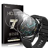 TAURI 4 Pack Protector de Pantalla Huawei Watch GT2 46mm (no para GT 2 Pro), HD Full Cristal Vidrio Templado 2.5D Touch,HD-Display, Anti-Burbujas, para Huawei Watch GT 2 (Huawei GT 2 46mm)