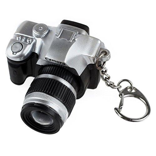 Portachiavi a forma di camera - SODIAL(R) Portachiavi di Mini SLR...