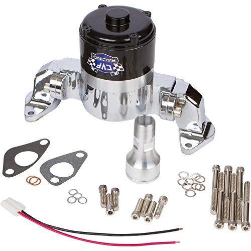 Chevy Big Block Electric Water Pump - 35 GPM, Chrome Aluminum, 396, 427, 454