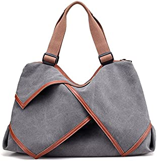 Multi-functional Canvas Shoulder bag ladies durable storage high quality fashion waterproof large portable shopping bag handbag Messenger bag