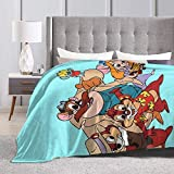 Eppedtul Chip N Dale Friends Ultra-Soft Micro Fleece Blanket Couch 50'' X40