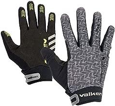 Valken Paintball Phantom Agility Gloves - Grey/Black-Large