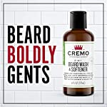 Cremo 2-in-1 Mint Blend Beard Wash & Softener, Cleans and Conditions All Lengths of Facial Hair, 6 Oz. 3