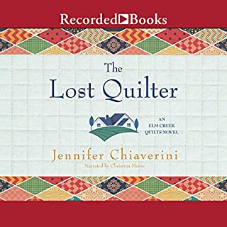 The Lost Quilter audiobook cover art