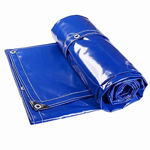 LJFPB Abdeckplane Verdickung der Leinwand wasserdicht Verschleißfest PVC-Oxford-Tuch UV-Schutz 500 g/m² 0,5 mm (größe : 4x7m)