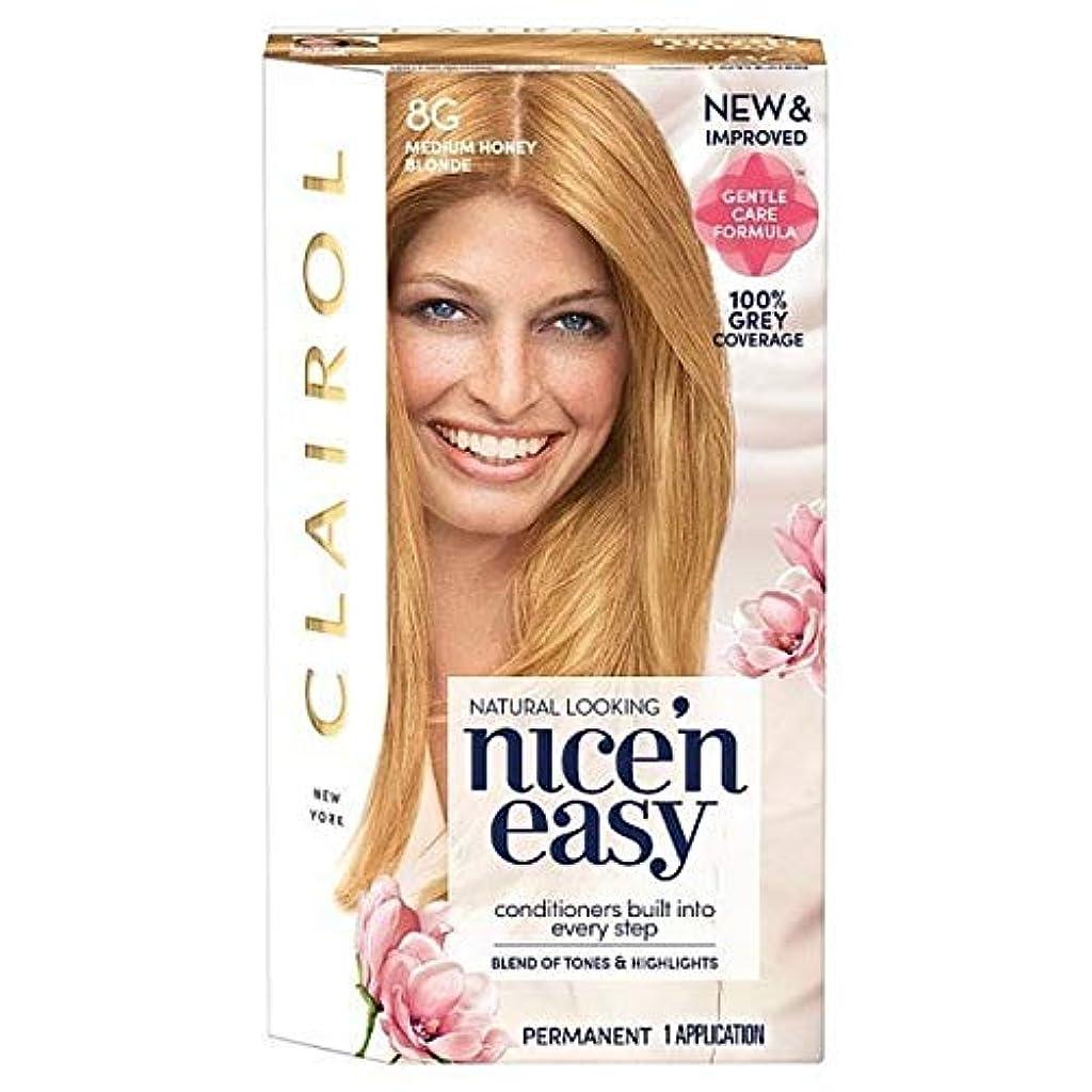 ブル私たち自身早める[Nice'n Easy] Nice'N簡単に8グラムメディアハニーブロンド - Nice'n Easy 8G Medium Honey Blonde [並行輸入品]