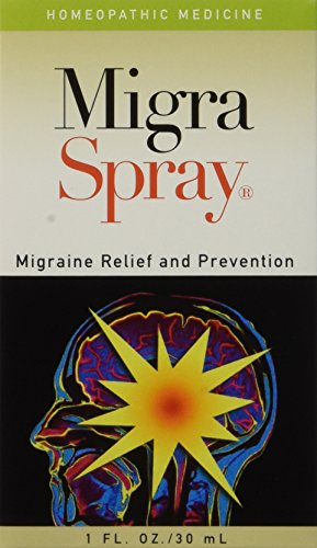 Migraine Spray Headache Relief All Natural MigraSpray is a patented over the counter homeopathic medicine intended to be a comprehensive approach for the treatment and prevention of migraine headaches. Migraine Spray Headache Relief All Natural Migra...