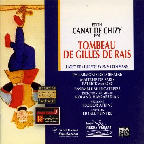 Canat de Chizy-Le Tombeau de Gilles de Rais