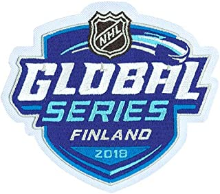 Emblem Source NHL Global Series Collectors Jersey Patch - Finland - Florida Panthers vs. Winnipeg Jets