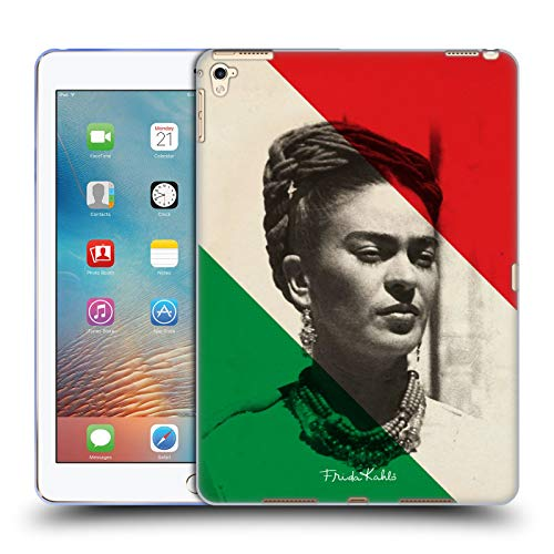 Official Frida Kahlo Retrato Portraits And Quotes Soft Gel Case Compatible for Apple iPad Pro 9.7 (2016)