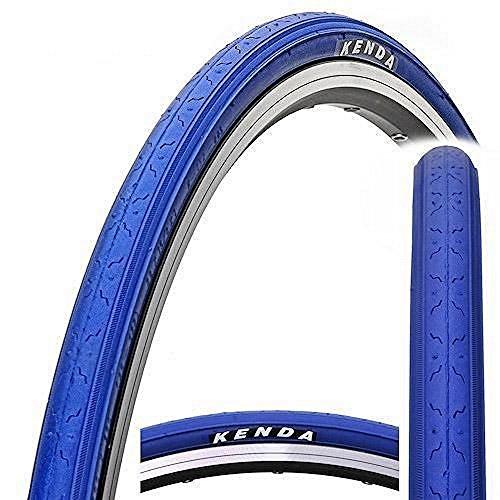KENDA K152 Fahrradreifen, Fixed Fear, Fixie, Singlespeed, Rennrad, Track Bike Reifen (blau)