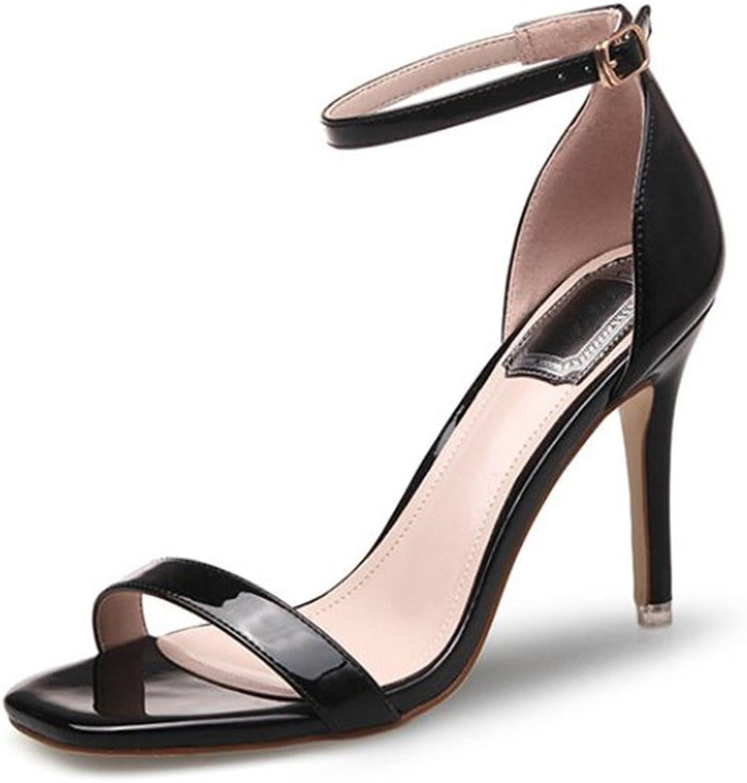 Women's sash Summer Refreshing Sexy high Heel Sandals