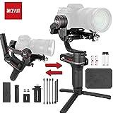 Zhiyun WEEBILL S Gimbal Palmare-Stabilisator mit 3 Achsen für Spiegelreflexkameras, Smartphone, verbesserter Motor 300% im Vergleich zu Zhiyun Weebill Lab, max. 3 kg (Standardpack)