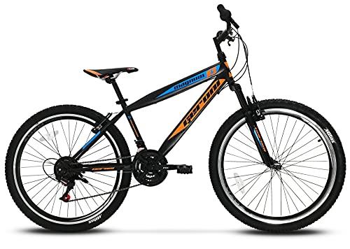 Bicicletta MTB Magnum 26'' 27.5'' pollici Bici Ammortizzata 21 Velocità Mountain Bike (27.5'')