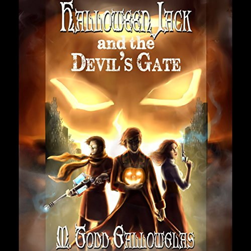 Halloween Jack and the Devil's Gate audiobook cover art