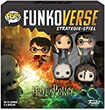 Funko 43477 Harry Potter 100 Funkoverse (paquete de 4 personajes) Board Game, Version aleman, colores surtidos