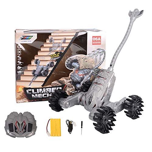 ZAKRLYB Scorpion puede subir escaleras control remoto coche chico juguete eléctrico Vehículo para niños Niños y niñas Mejor regalo vehículos deformados Control remoto inalámbrico de carreras de carrer