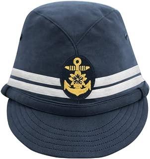 WWII Japanese IJN Navy First Type Officer Field Cap Blue