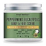 100% Natural Peppermint Eucalyptus Tea Tree Body & Foot...