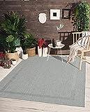 Mistra In- & Outdoor Teppich Flachgewebe, Modernes Design, Trendige Farben, Superflach, UV- und...