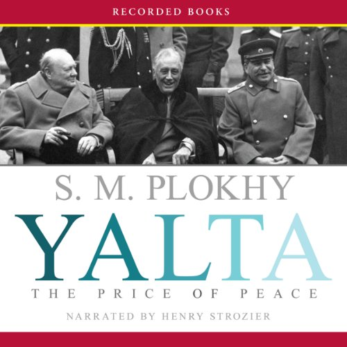 Yalta audiobook cover art