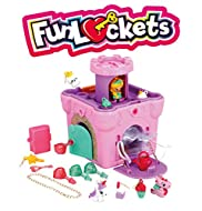 Funlockets, Castle of Secrets, Girl's Toy, Escape Game, 20 Surprises, Jewellery, Pink, 4 Years