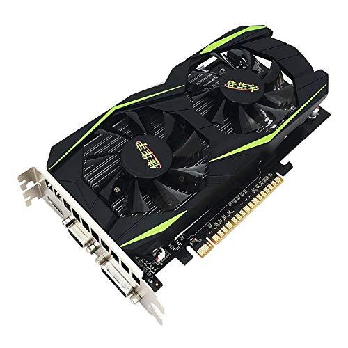UKRosalind Grafikkarte für NVIDIA GeForce GTX960 4 GB DDR5 128 Bit PCI-Express Grafikkarte Desktop Computer mit HDMI VGA DVI Ports