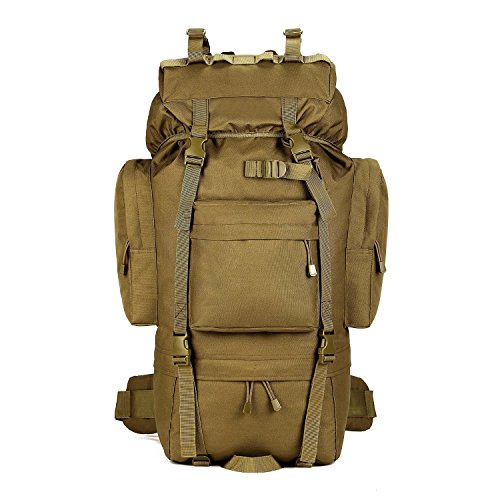 65L Tactical Military Backpack Water Resistant Hiking Camping trekking Rucksack TAssault Pack Sport...